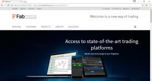 banking platform trading