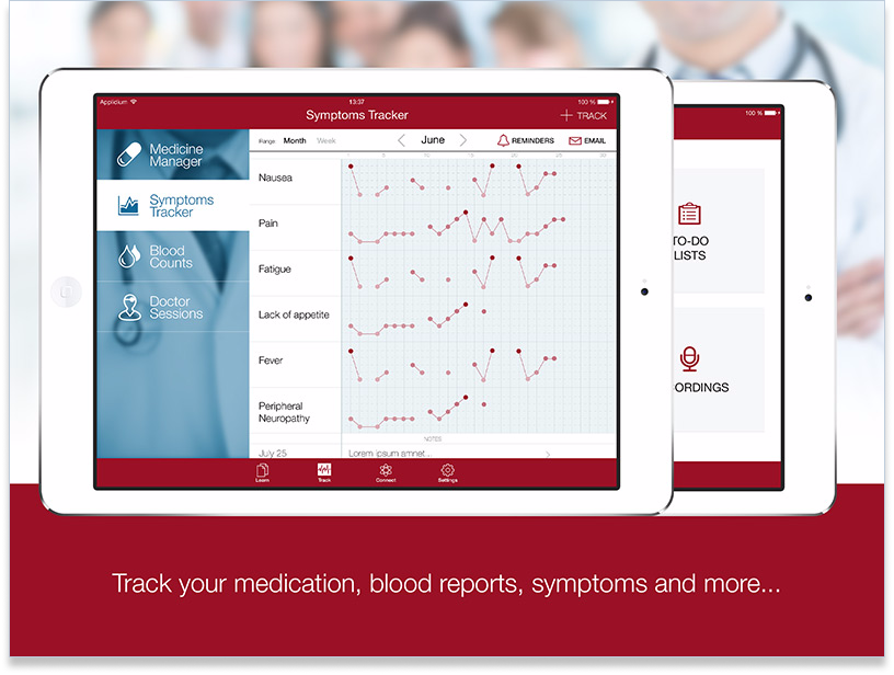 patient managment app tablet
