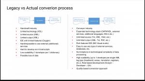 dictionaries conversion process