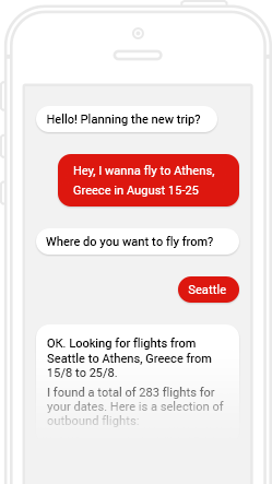 chatbot development for Travel Industry