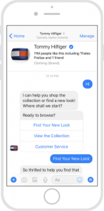 chatbot for retail