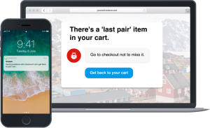 abandoned cart chatbot for retail