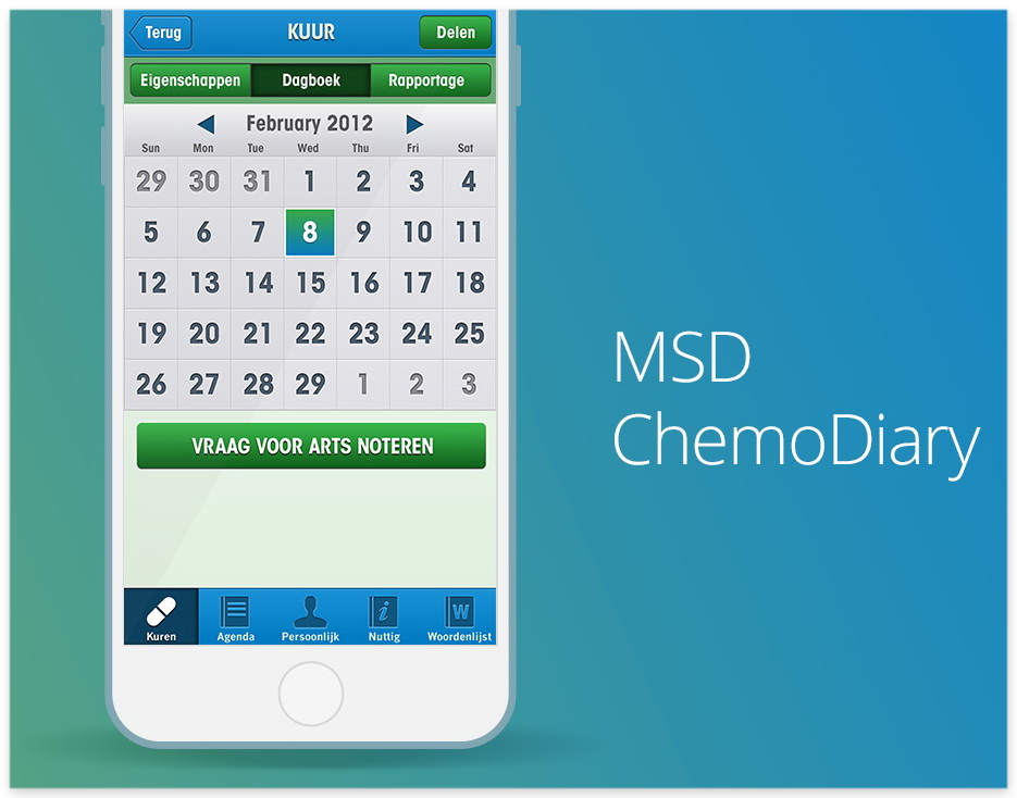 MSD ChemoDiary Patient Engagement App small