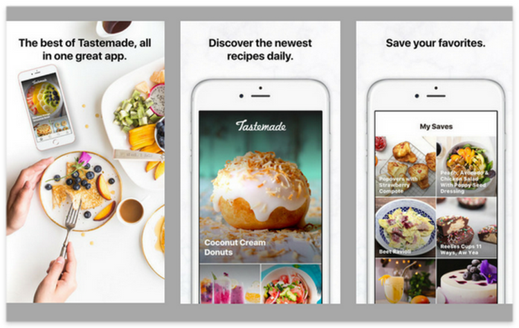 Tastemade best apple apps 2017