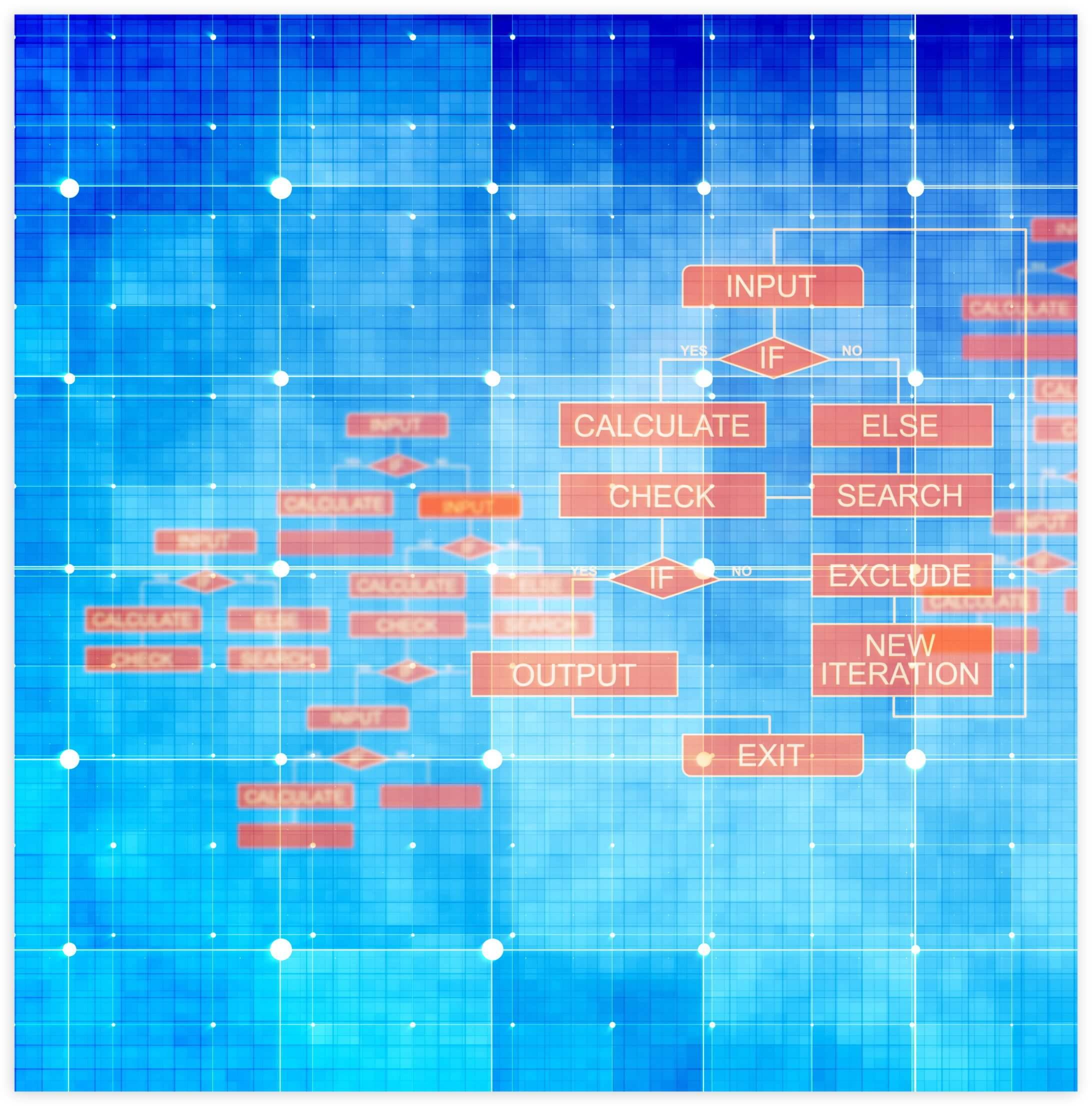 PDF data recognition algorithm
