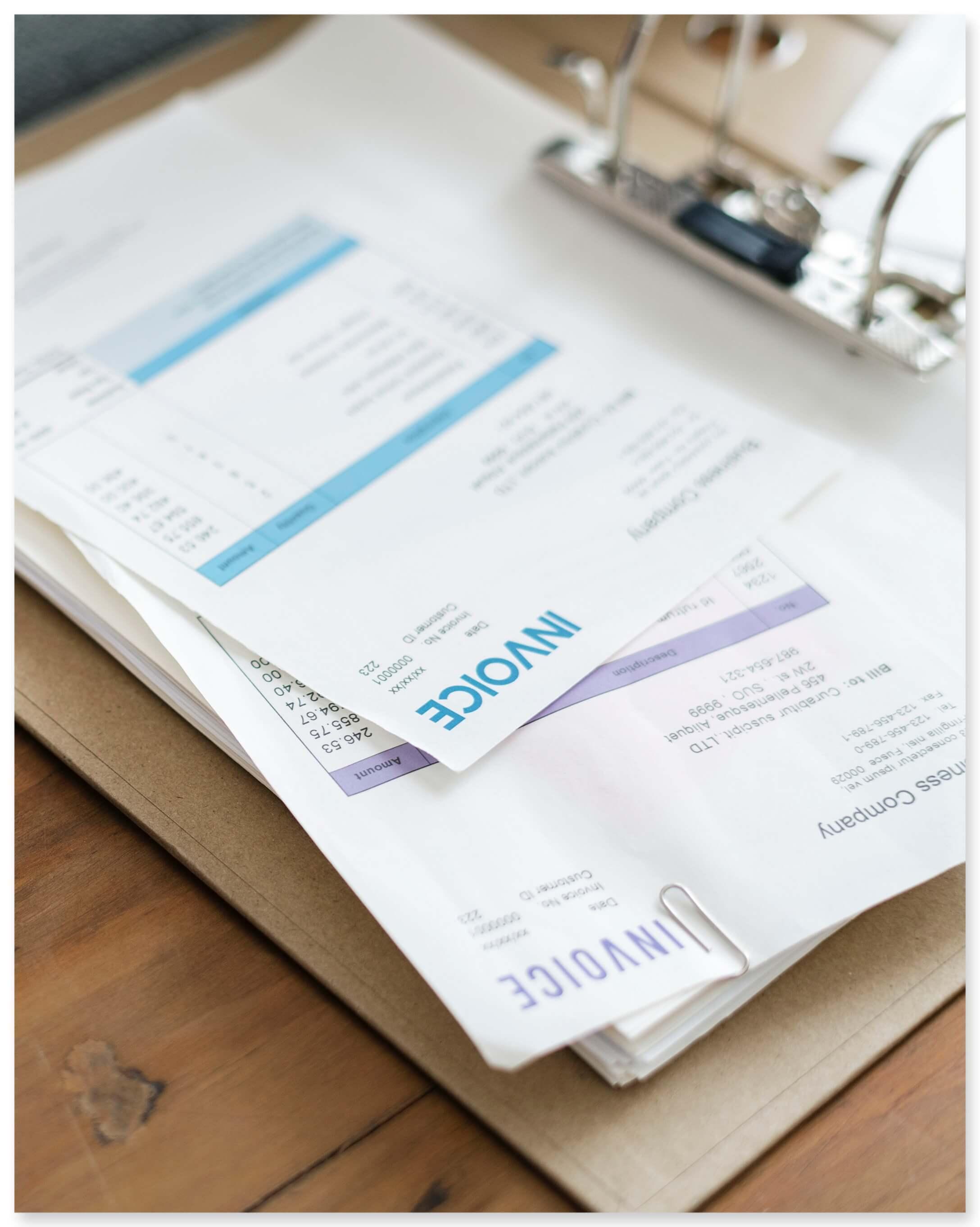 PDF invoices recognition