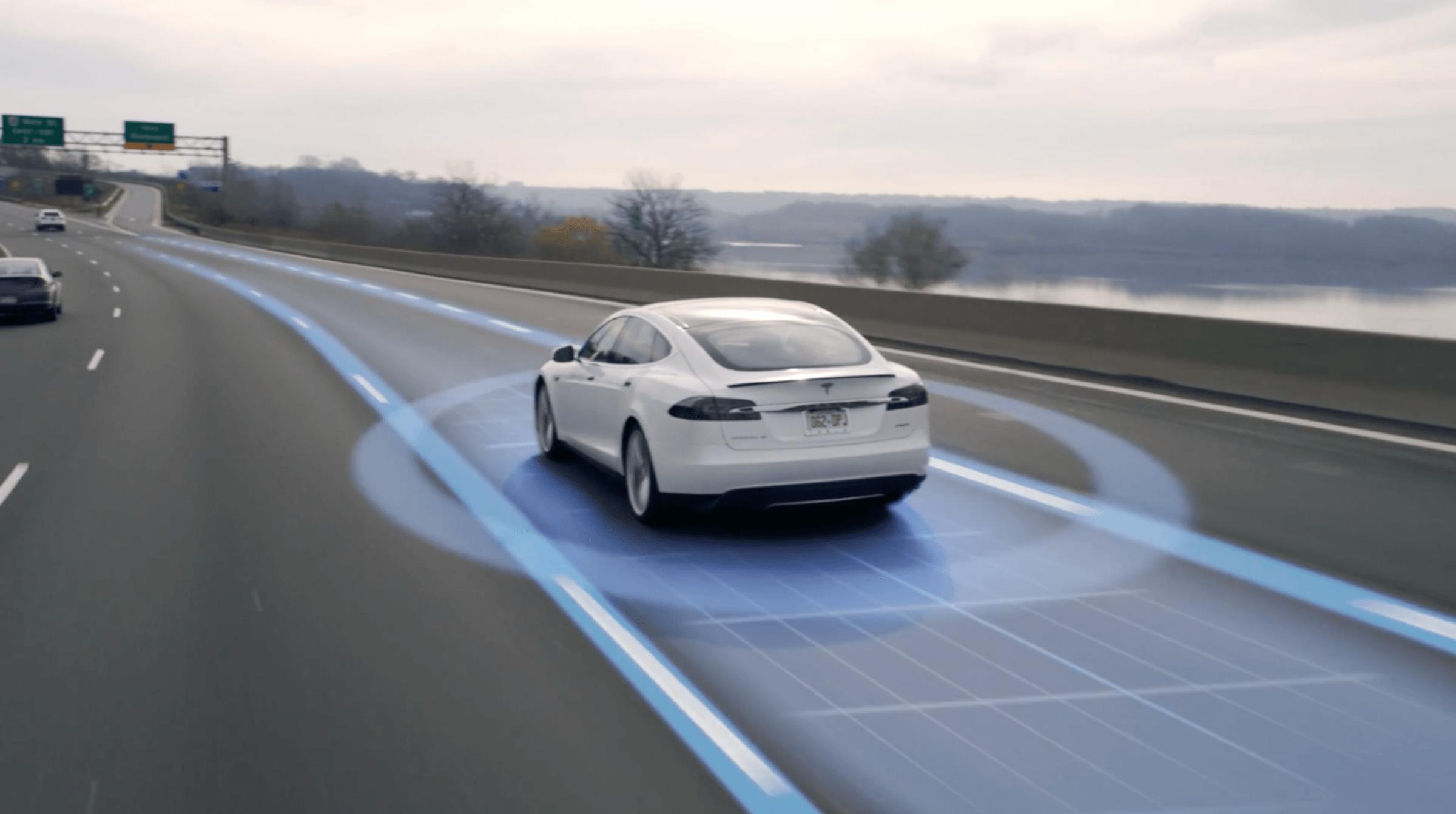 Tesla autopilot big data