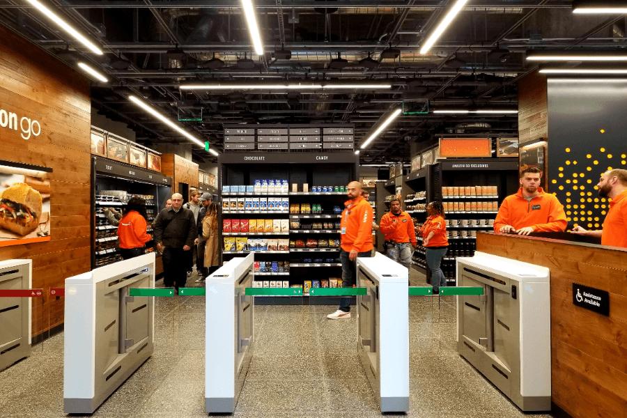 Iot retail cashless checkout