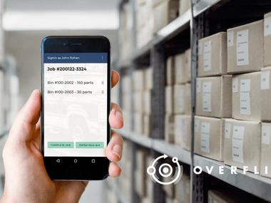 Overfli enterprise app