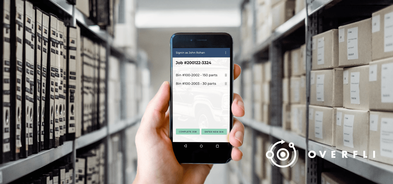 Android app for inventory