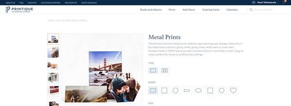 Printique product design