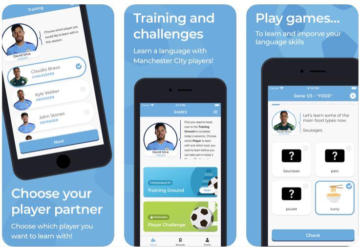 iOS app Go and learn