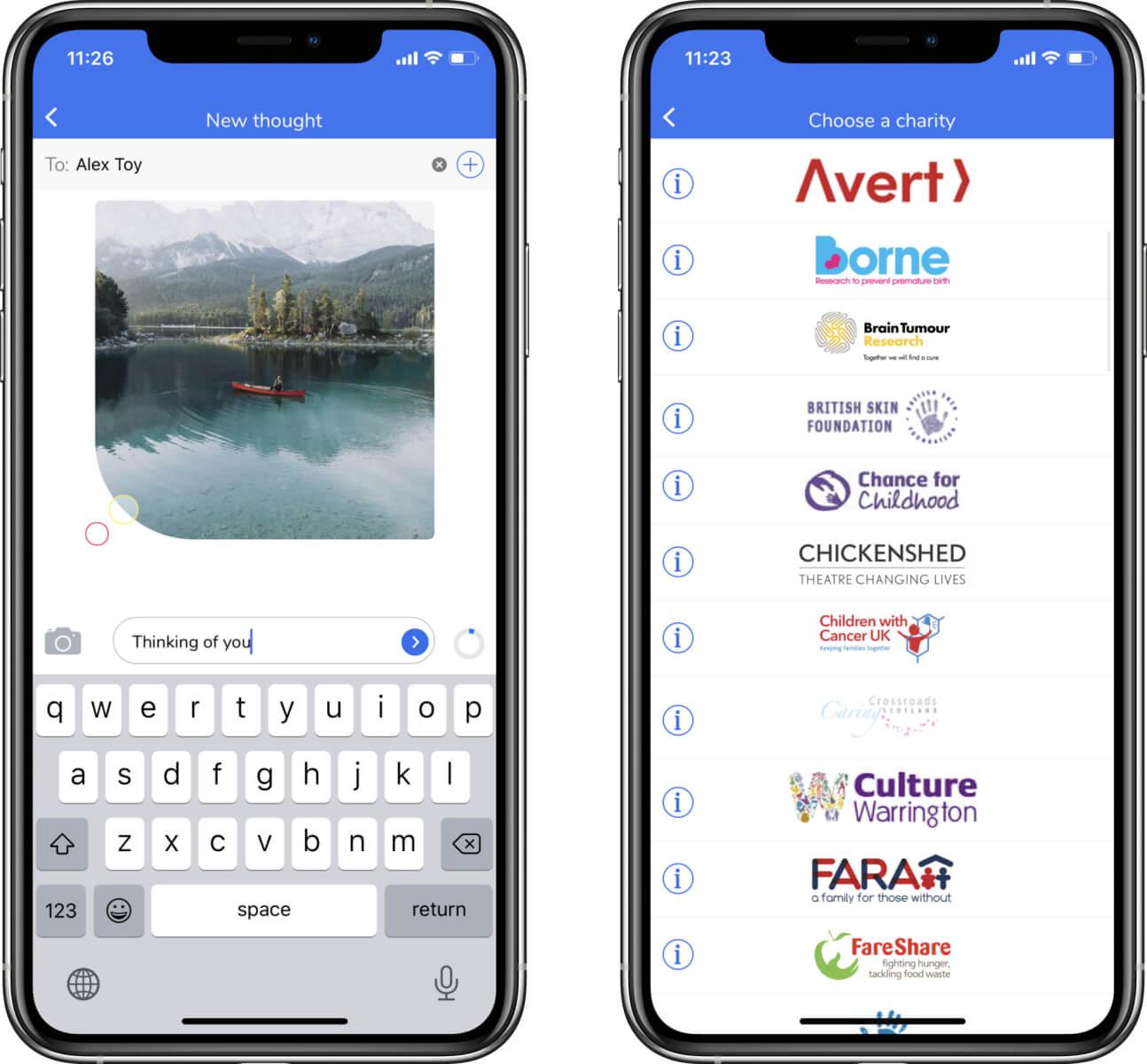 donation apps development